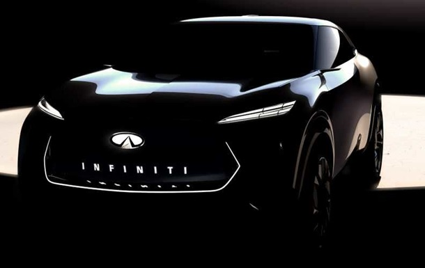 Розсекречено дизайн першого електрокросовера Infiniti