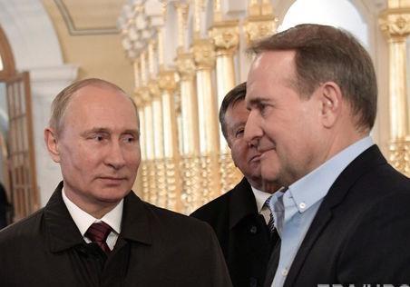 Маркер Медведчука: Кремль закрыл канал коммуникации с Порошенко