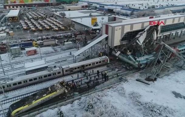 Аварія з поїздом в Анкарі: затримано дев ятьох осіб