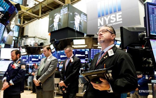 Фондові індекси США впали більш ніж на 2%