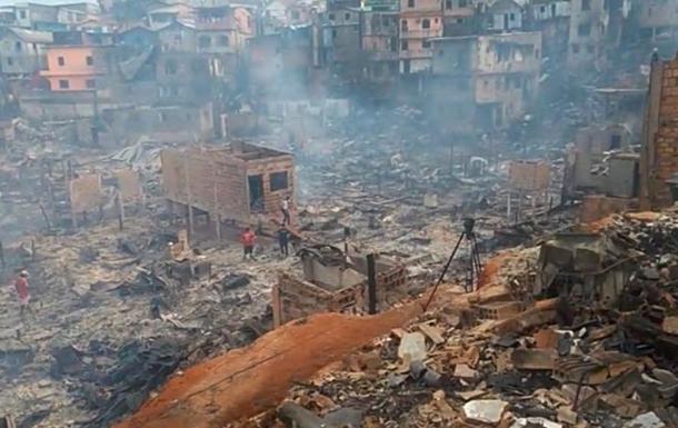 Через пожежу в Бразилії згоріли 600 будинків