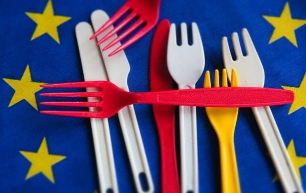 В ЄС погодили заборону одноразового пластику