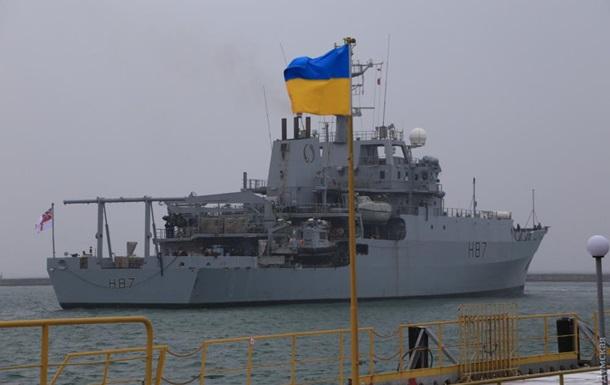 Британський військовий корабель прибув до Одеси