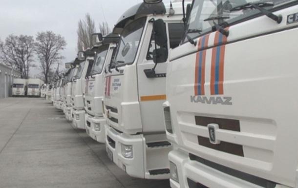 Росія скерувала на Донбас 84-й гумконвой
