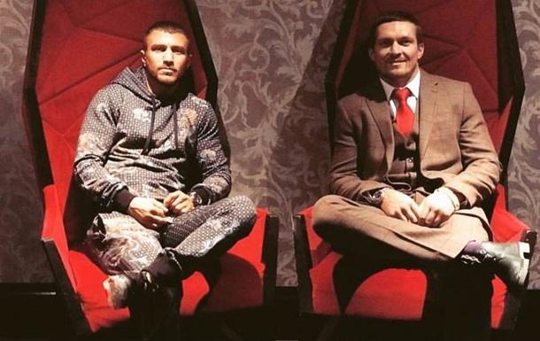 Усик: Думаю, Ломаченко стане абсолютним чемпіоном в наступному році