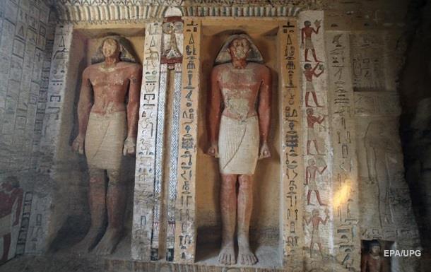 Ідеально збереглася. Гробниця жреця в Єгипті