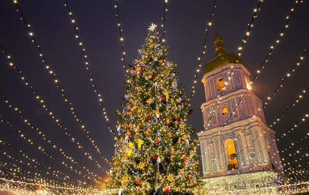 Украина победила в рейтинге лучших рождественских елок Европы