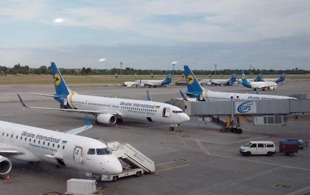 У Борисполі невідомий  замінував  літаки в Тель-Авів