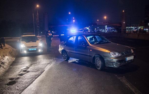 В Киеве с погоней задержали пьяного нарушителя