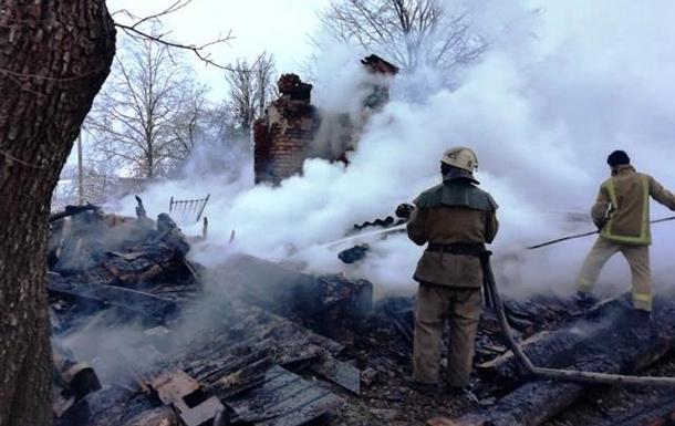 У Житомирській області у пожежі житлового будинку загинули двоє людей