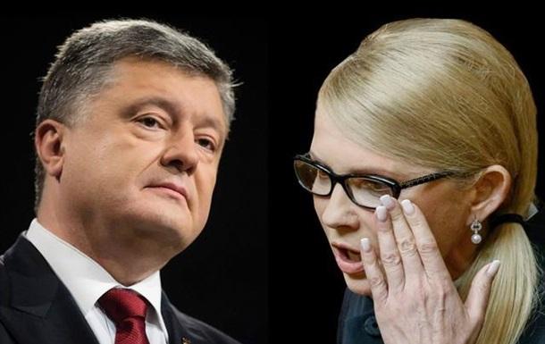 Украинцы сказали кого выберут - Порошенко или Тимошенко