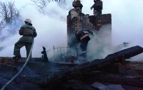 У Запорізькій області на пожежі приватного будинку загинули дві людини