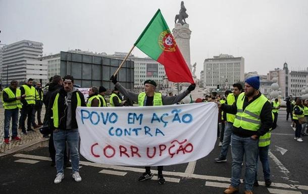 Протести  жовтих жилетів  дісталися Португалії