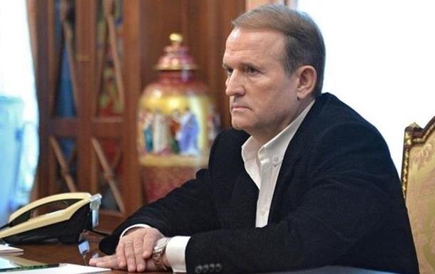 Медведчук рассказал о переговорах об освобождении украинских моряков