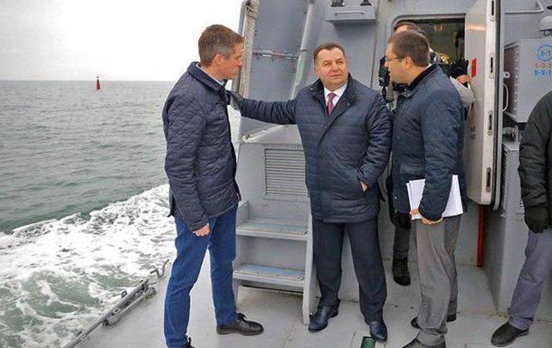 Глави Міноборони України і Британії вийшли в море на бойовому катері