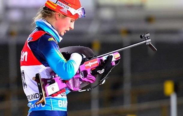 Журавок прибежала восьмой в финале суперспринта Кубка IBU