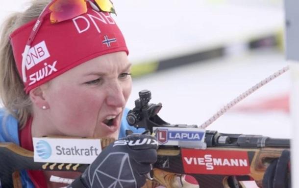 Биатлон: Ройселанд выиграла спринт в Нове Место, 4 украинки в топ-15