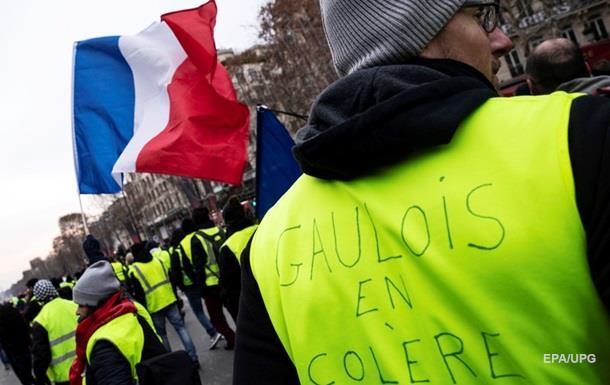 Протести  жовтих жилетів  у Франції: ЗМІ повідомили про десяту жертву