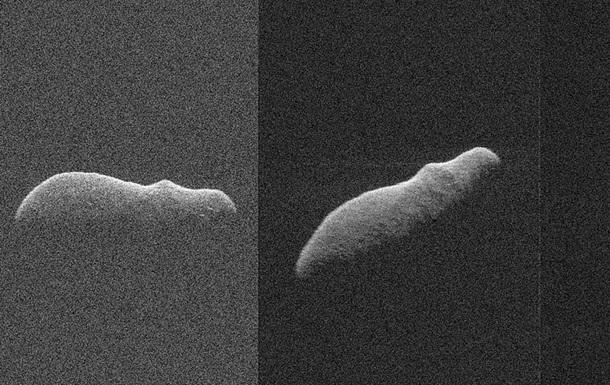 Астероид в форме бегемота пронесся мимо Земли