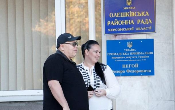 Справа Гандзюк: в будинку голови Олешківської РДА проводять обшук