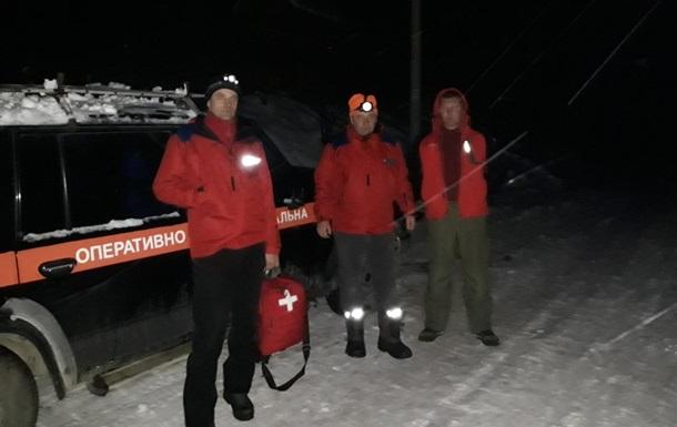 В Карпатах нашли потерявшихся лыжников