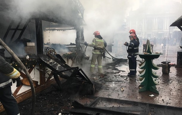 Названа причина взрыва на ярмарке во Львове