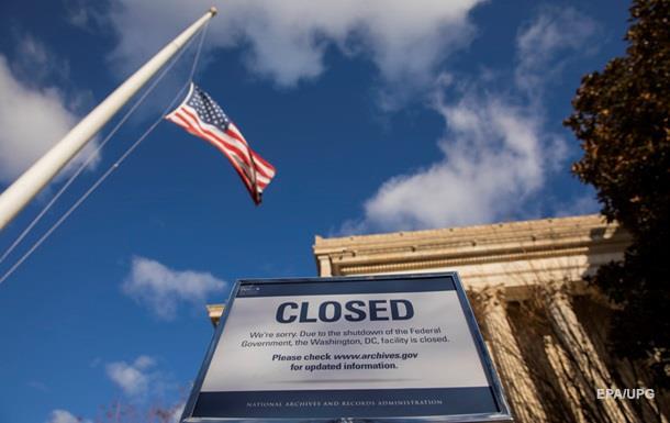 Сенат США не затвердив тимчасовий бюджет