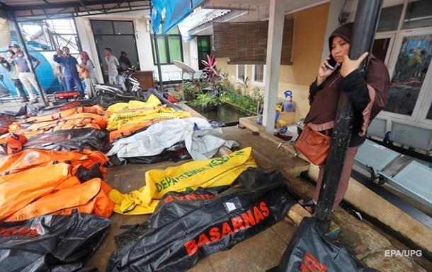 Число жертв цунами в Индонезии превысило 220 человек