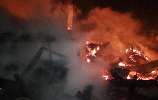 В Карпатах сгорела гостиница: один человек погиб