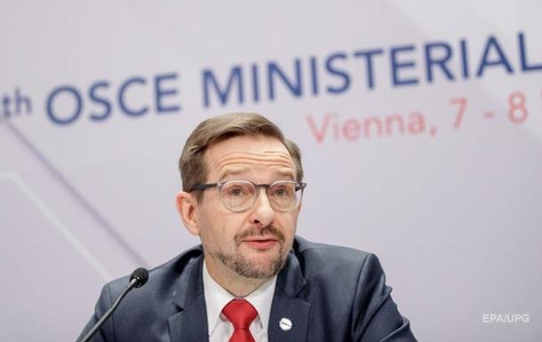 ОБСЕ ожидает обостроние конфликта Украины и России