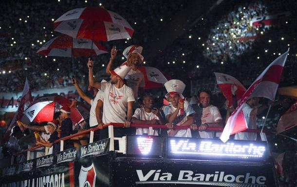 Рівер Плейт феєрично відсвяткували перемогу в Кубку Лібертадорес