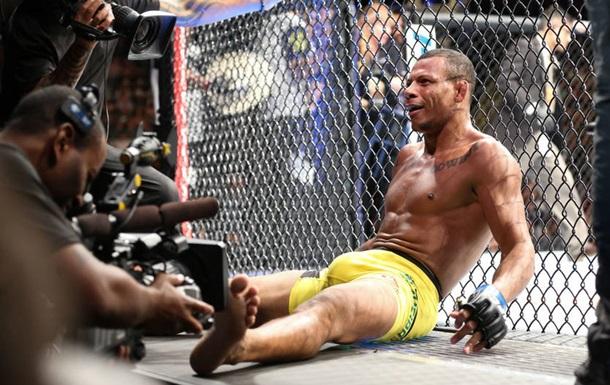 Боец UFC получил ранение осколком гранаты
