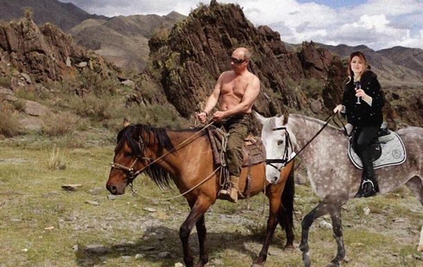 Поздравление Поклонской на коне превратили в мем