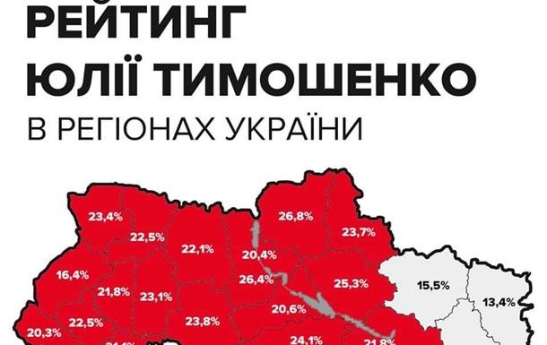 Рейтинг Юлії Тимошенко на Луганщині - це показник вірності обраного нами шляху
