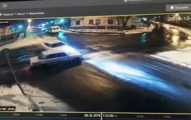 В Ужгороде водитель устроил ДТП и пытался сбежать