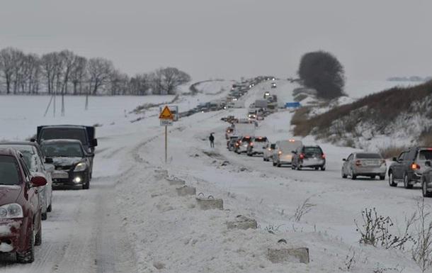 Дороги в Полтавской области очистили от снега - ГСЧС
