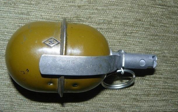Грабіжник підірвався на гранаті під час відступу