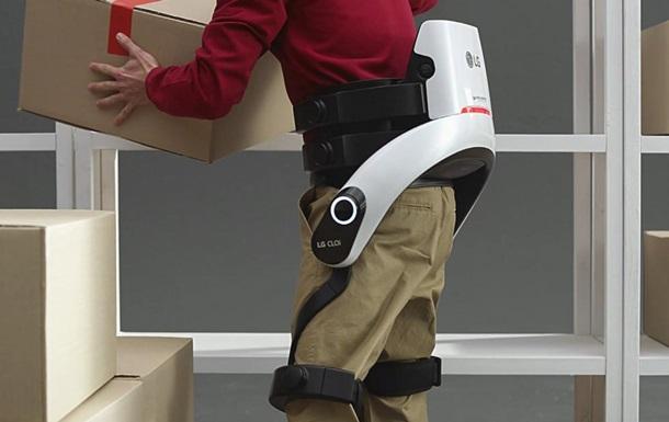 Экзоскелет от травм. LG выпустила устройство CLOi SuitBot