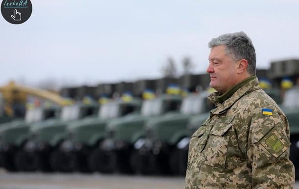 Порошенко «делает» себя президентом деньгами Военного положения