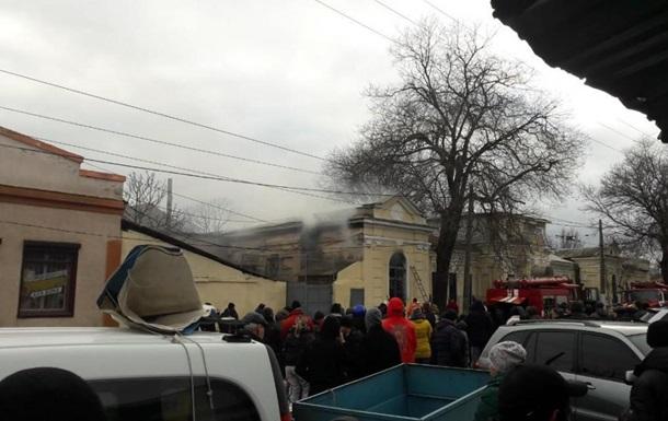 В Одесі сталася пожежа в зоопарку