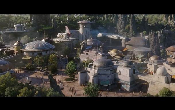 Disney показала парки аттракционов в честь Звездных войн