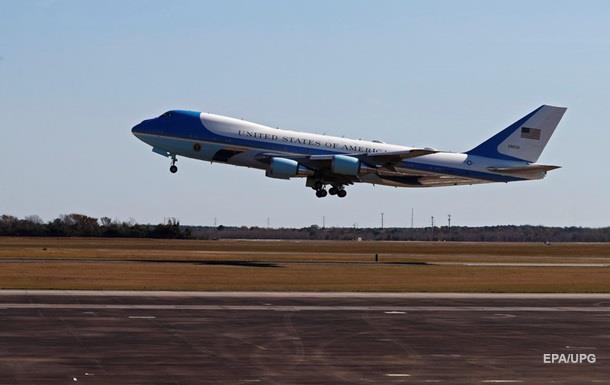 Британец случайно  рассекретил  полет Трампа в Ирак
