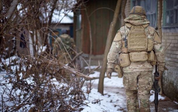 Бойцы ВСУ взяли в плен сепаратиста