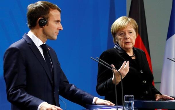 Меркель та Макрон закликають РФ видати українських моряків