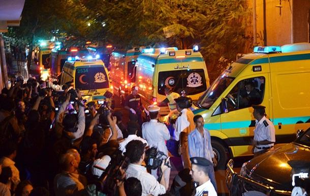 Взрыв в Египте: число жертв выросло