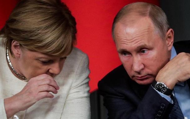 Меркель і Путін обговорили Керченську кризу і Сирію