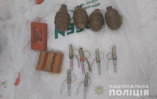 В Днепропетровской области задержали студента с гранатами
