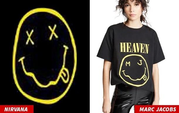 Nirvana пред явила позов до Marc Jacobs за крадіжку логотипу