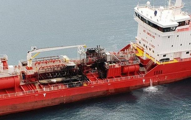 Під час вибуху на танкері біля берегів Кіпру постраждали двоє моряків
