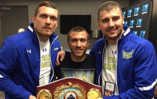 Ломаченко привітав Усика з отриманням звання Боксер року